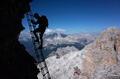 Via Ferrate in the Dolomites, Italy