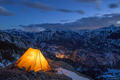 Winter Camping above Ouray, Colorado