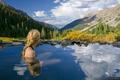 Conundrum Hot Springs, Elk Mountains, Colorado
