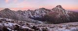 Holy Cross Dawn Panorama print