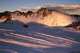 Snow Peak Sunset print