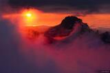 Triglav Sunset print