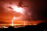 Boulder Lightning print
