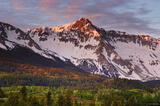 Mears Peak Alpenglow print