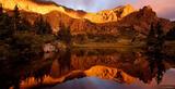 Milwaukee Peak Reflection print