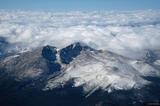 Longs Peak Aerial print