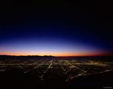 Salt Lake City Lights print