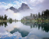 Misty Teton Reflection print