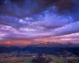 Sneffels Range Sunset print