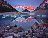 Cerro Torre Reflection print