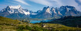Torres del Paine Panorama print