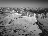 Dawn on Sneffels Summit B&W print