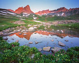 Ice Lakes Basin Reflection #2 print