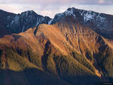 Autumn Light on Silverton Mountain print