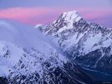 Mount Cook Mist print