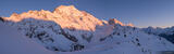 Mount Cook Sunrise Panorama print