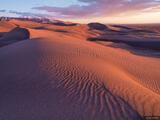 Dunes Western Sunset print
