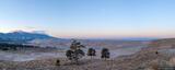 Sand Ramp Dawn Panorama print
