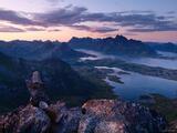 Austvågøya Sunset print