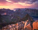Lofoten Sunset print