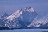 Teton Winter Dawn print