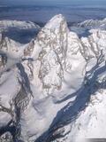 Grand Teton Aerial #1 print