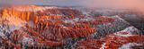 Bryce Canyon Snowy Sunrise print