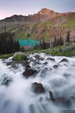 Blue Lakes Waterfall print