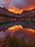 Fiery Weminuche Sunrise print