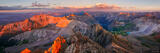 Sneffels Summit Sunset Panorama print