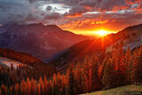 Uncompahgre Sunset print