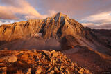 Golden Capitol Peak print