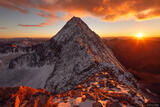Capitol Peak Sunset print