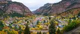 Ouray Autumn Panorama print