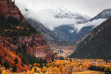 Ouray Stormy Autumn print