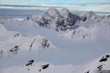 Obergurgl Misty Mountains print