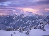 Ahornspitze Sunset print