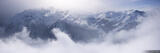 Mayrhofen Cloud Panorama print