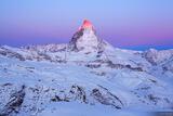 Matterhorn Alpenglow print