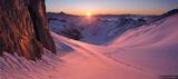 Oberaarjoch Sunrise print