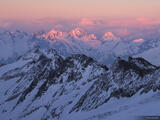 Oberaarjoch Sunset print