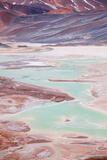 Surreal Salar de Aguas Calientes print