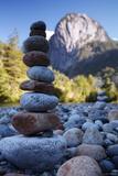 Cochamó Stones print