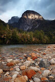 Cochamó River Rocks print