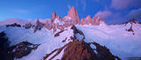 Fitz Roy Sunrise Panorama #1 print