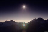 Solar Eclipse over the Sneffels Range print