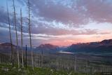 Sunrise over Glacier NP print