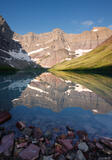 Cracker Lake Reflection print