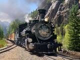 Durango & Silverton Narrow Gauge Train print
