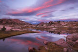 Silver Mesa Sunset print